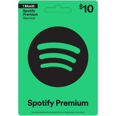 Spotify $10 (Email Delivery)