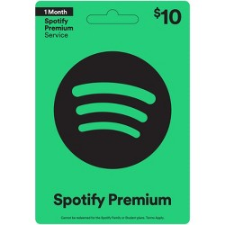 Spotify Gift Card (Email Delivery)