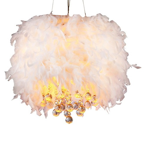 Warehouse Of Tiffany Chandelier Ceiling Lights -White - image 1 of 1