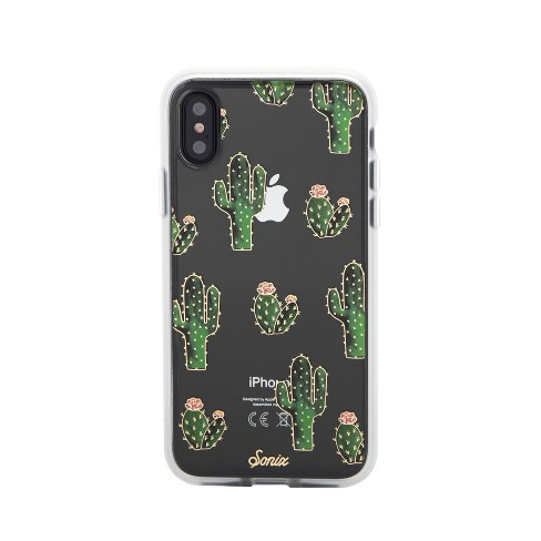 the latest 1d1a7 b0b75 Sonix Apple iPhone X/XS Clear Coat Case - Prickly Pear