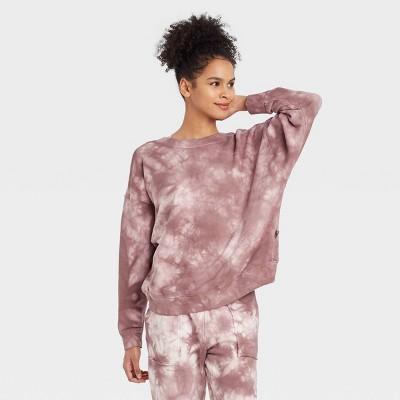 Women's Reversible French Terry Pullover Sweatshirt- JoyLab™