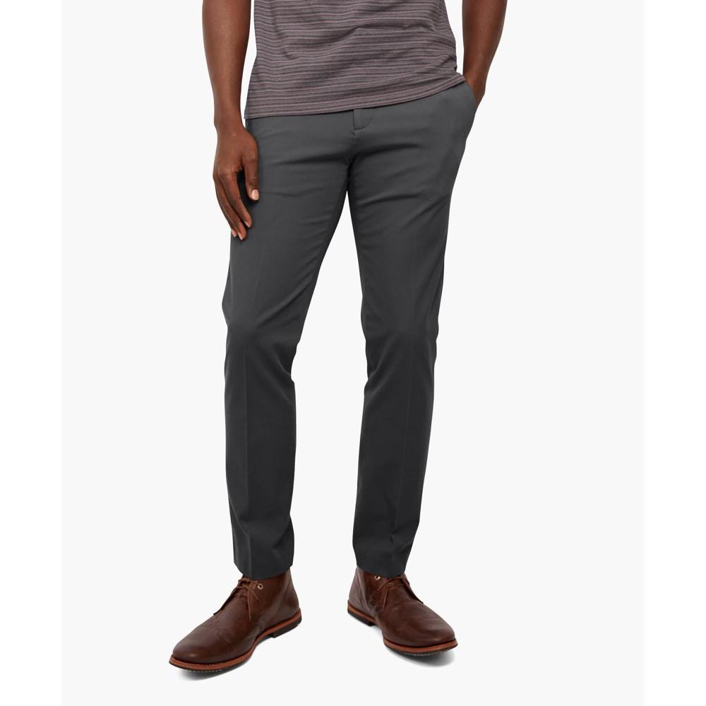 Dockers Men 39 S Slim Fit City Tech Trousers Gray 38x34