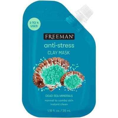 Freeman Dead Sea Minerals Clay Mask - 1.18 fl oz
