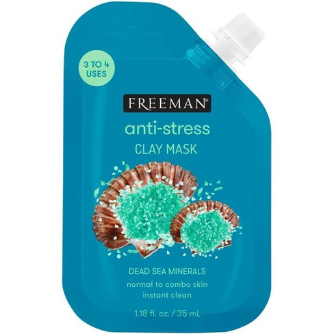 Freeman Dead Sea Minerals Clay Mask - 1.18 fl oz - image 1 of 4
