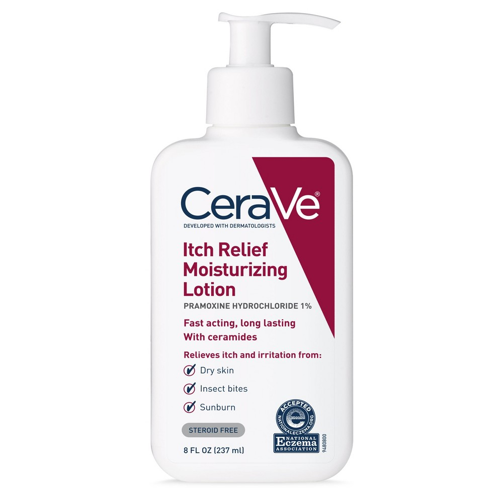 CeraVe Itch Relief Moisturizing Lotion for Dry and Itchy Skin - 8oz