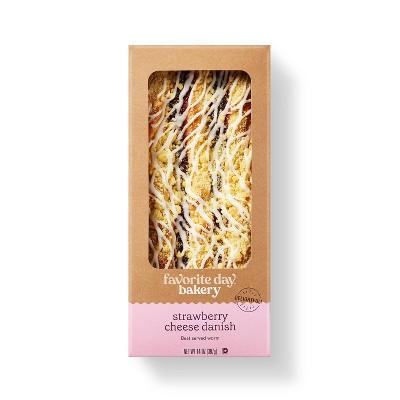 Strawberry Cheese Danish - 14oz - Favorite Day™