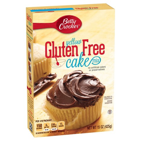 Betty Crocker Gluten Free Yellow Cake Mix - 15oz - image 1 of 3