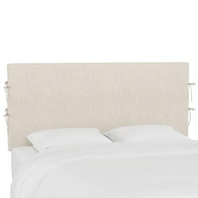 Meridian Slipcover Linen Headboard  - Skyline Furniture