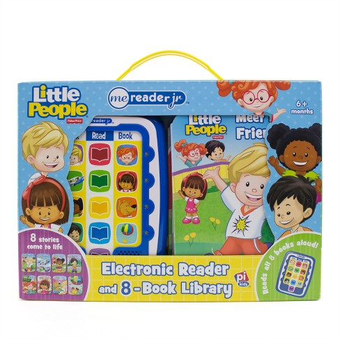 Fisher-Price Little People Electronic Me Reader Junior 8-book Boxed Set - image 1 of 12