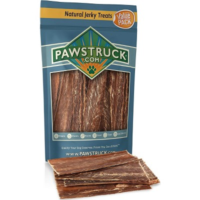 Pawstruck Joint Health Beef Jerky Dog Treat Chews - Natural Beef Gullet Jerky - Rich in Glucosamine and Chondroitin Promotes Healthy Joints & Tissue Growth