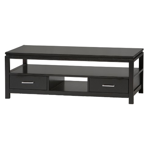 Sutton Coffee Table Black - Linon - image 1 of 2