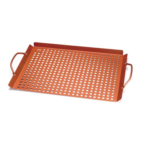Grill Grid with Handles - Copper - Outset - image 1 of 2