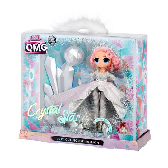 L.O.L. Surprise! Winter Disco O.M.G. Crystal Star 2019 Collector Edition Fashion Doll image number null