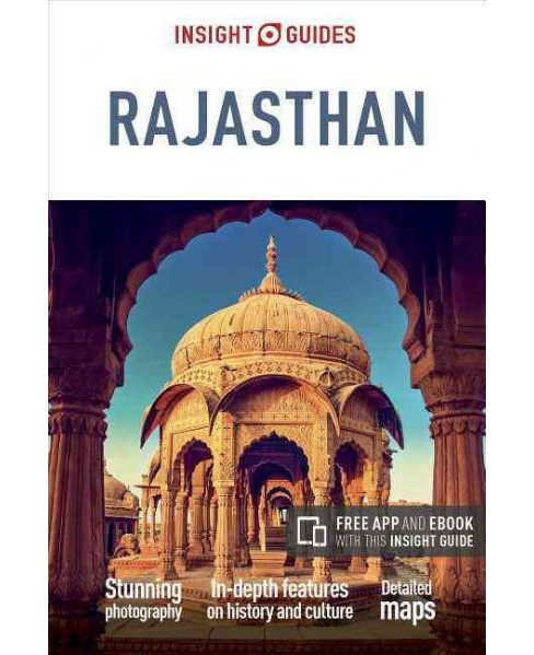 Insight Guides Rajasthan (Paperback) (Gavin Thomas) - image 1 of 1