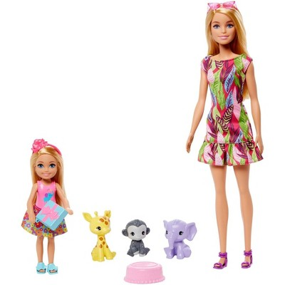​Barbie and Chelsea the Lost Birthday Dolls and Pets Story Set