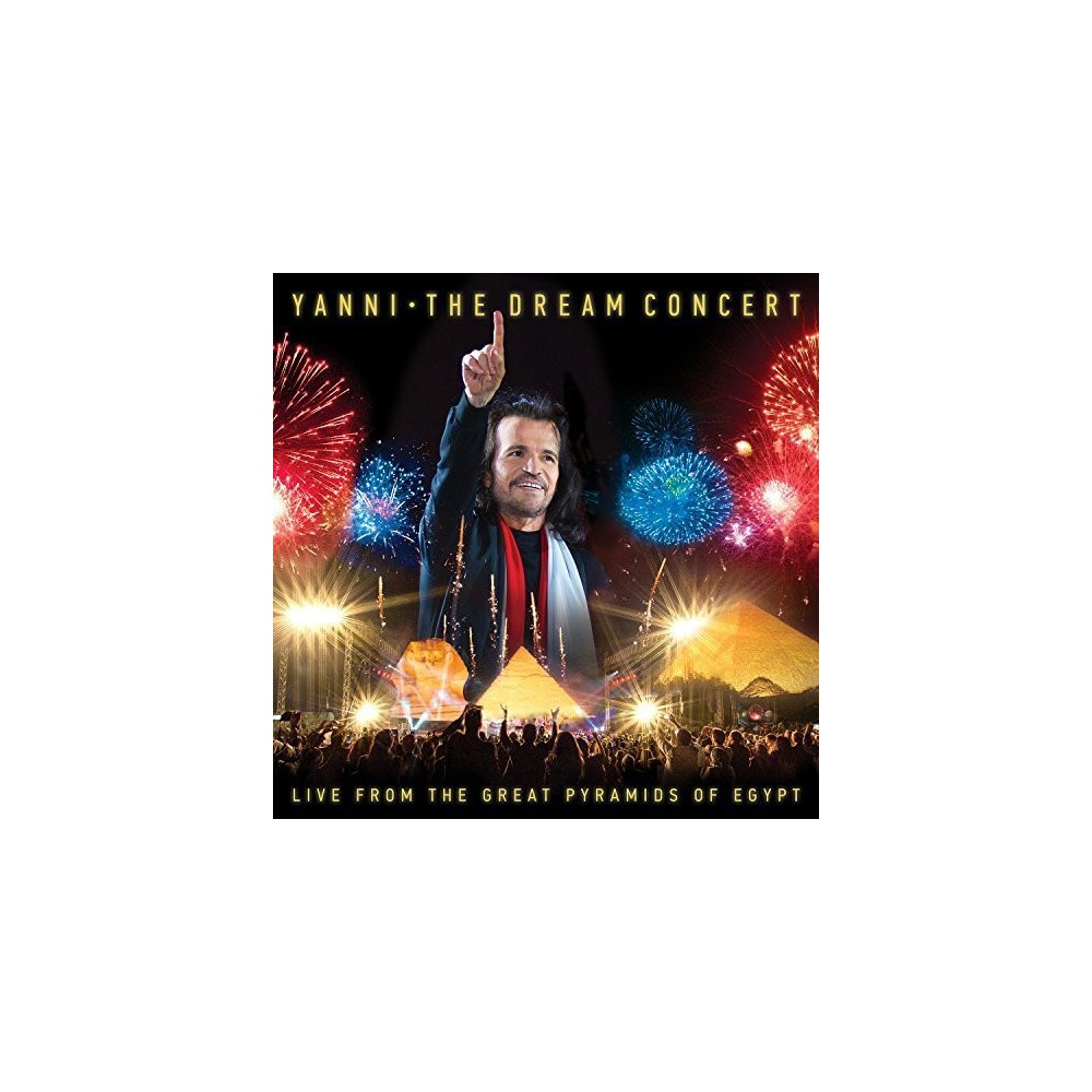 Yanni - Dream Concert:Live From The Great Pyr (CD)