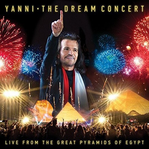 Yanni - Dream Concert:Live From The Great Pyr (CD) - image 1 of 1