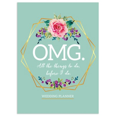 "Undated Wedding Planner 7.5""x 10.25"" Pastel Blue - TF Publishing"