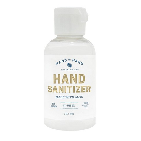 Hand in Hand Hand Sanitizer Fragrance Free - Trial Size - 2 fl oz - image 1 of 3