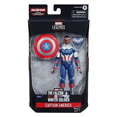 "Hasbro Marvel Legends Series The Falcon and the Winter Soldier 6"" Captain America: Sam Wilson"