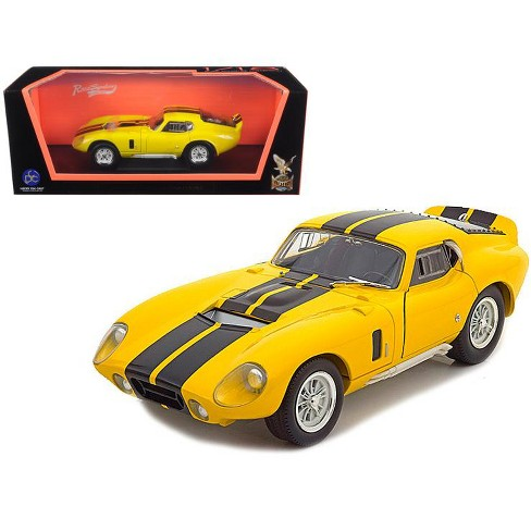 1965 Shelby Cobra Daytona Coupe Yellow 1/18 Diecast Model Car by Road Signature - image 1 of 1