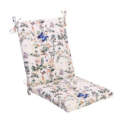 Chair Cushion DuraSeason Fabric™ Almond Finches - Threshold™