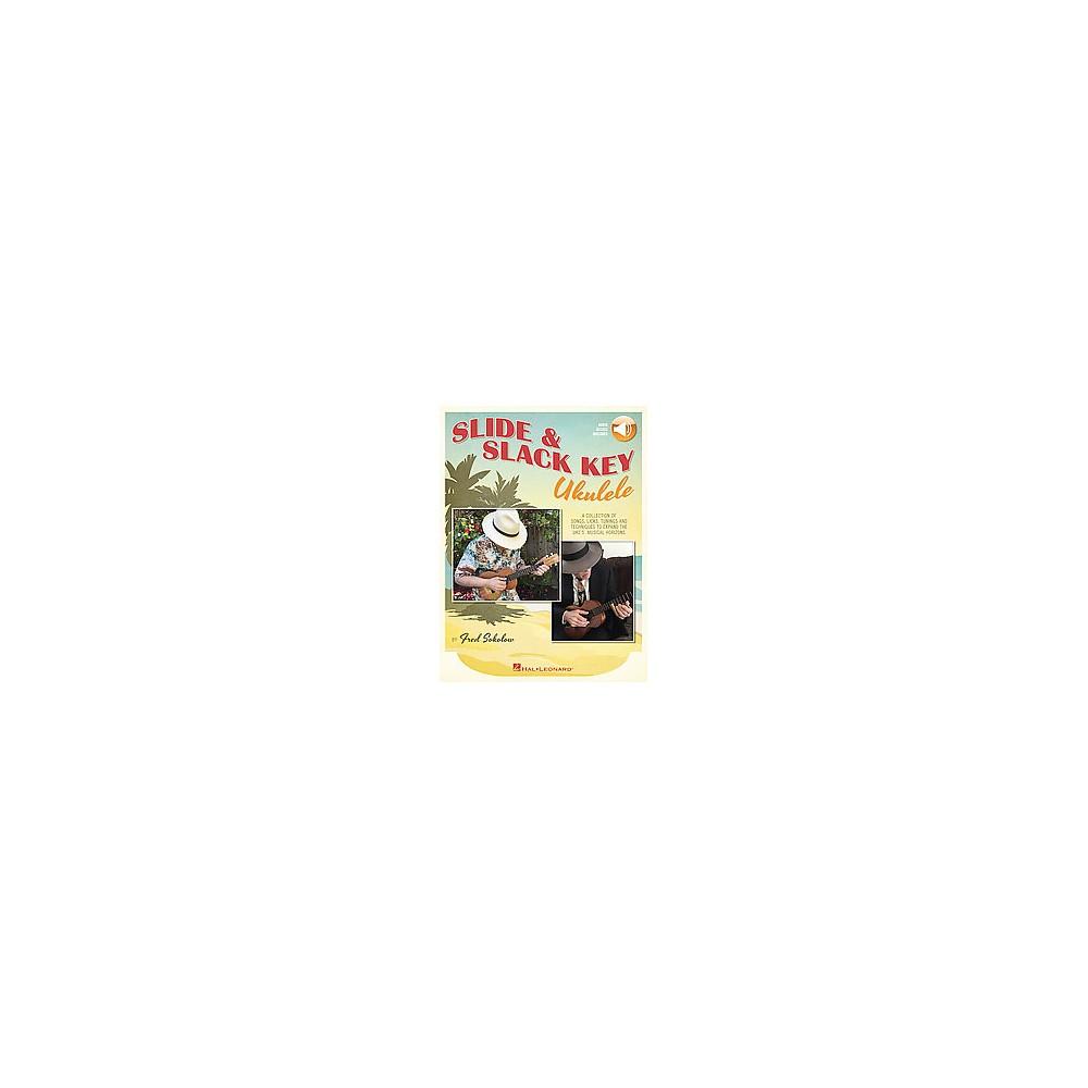 Slide & Slack Key Ukulele (Paperback) (Fred Sokolow)