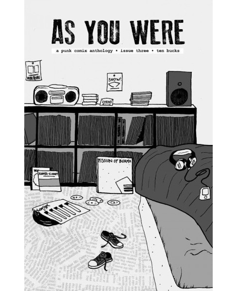 As You Were 3 : Big, Big Changes: A Punk Comix Anthology (Paperback) - image 1 of 1