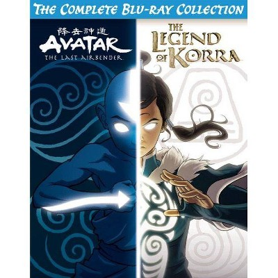 Avatar & The Legend of Korra Complete Series Collection (Blu-ray)
