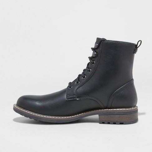 1d2883917036 Men s Boston Casual Fashion Boots - Goodfellow   Co™ Black   Target