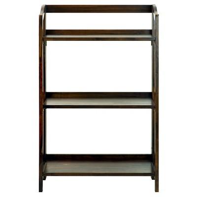 """Stratford 36"""" 3 Shelf Folding Bookcase"""