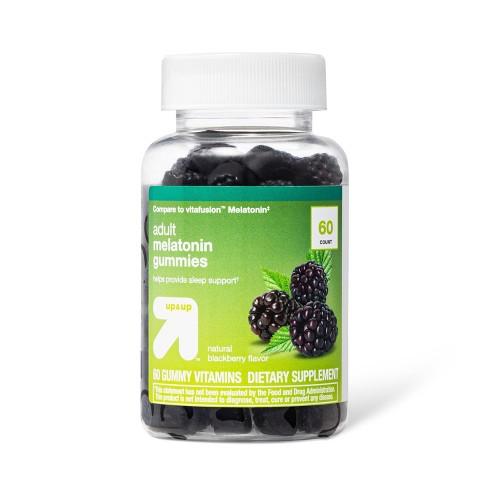 Melatonin Dietary Supplement Gummies - Fruit - 60ct - up & up™ - image 1 of 3