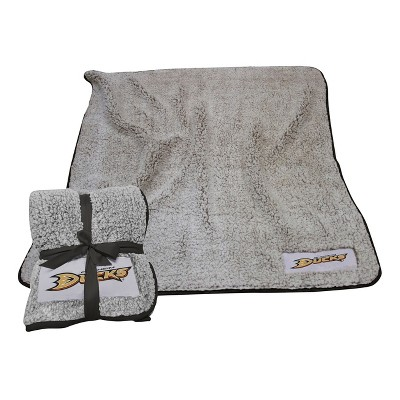 NHL Anaheim Ducks Frosty Fleece Throw