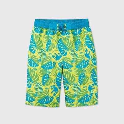 Boys' Universal Jurassic World Swim Trunks - Yellow