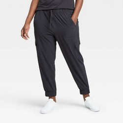 Women's Stretch Woven Cargo Joggers - All in Motion™