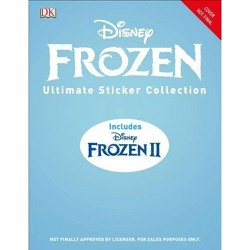 Disney Frozen Ultimate Sticker Collection - (Ultimate Sticker Collection) (Paperback)