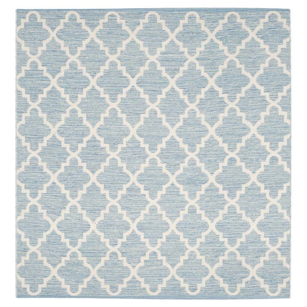 Montauk Rug - Light Blue/Ivory - (6'x6' Square) - Safavieh