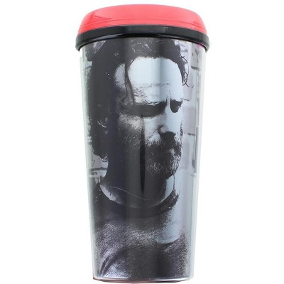 Just Funky The Walking Dead Rick Grimes 16oz Travel Mug