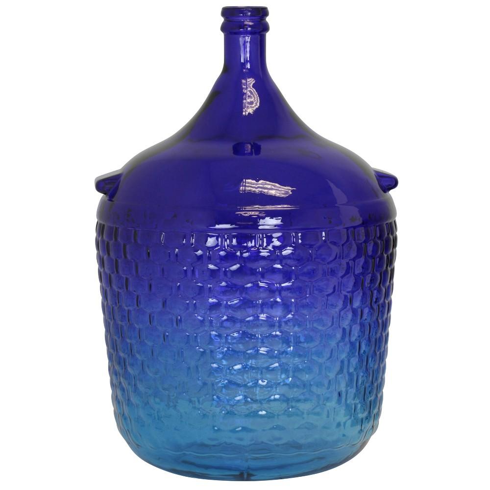 Image of Decorative Jar - Blue /Light Blue
