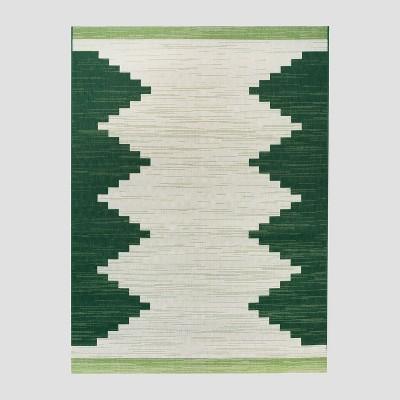 5' x 7' Mod Desert Outdoor Rug Green - Project 62™