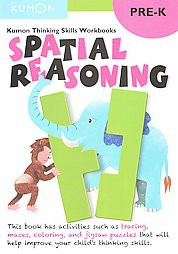 Spatial Reasoning, Pre-K ( Kumon Thinking Skills Workbooks) (Paperback) by Kumon