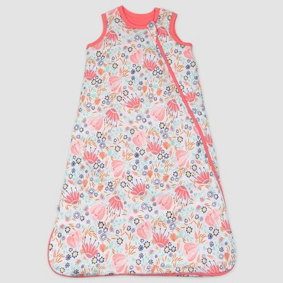 Honest Baby Organic Cotton Jersey Fill Wearable Blanket All Seasons - Flower Power S