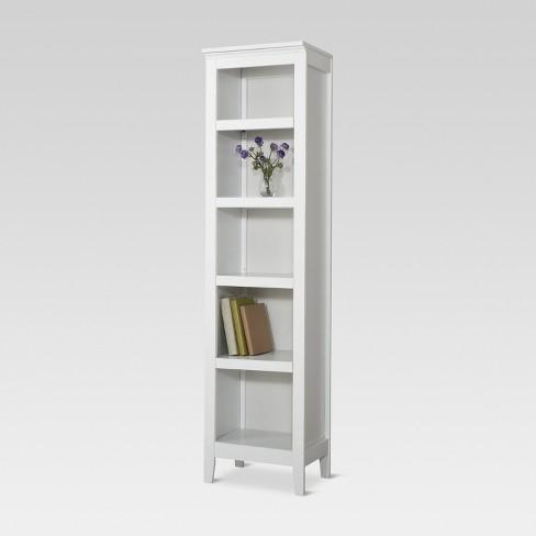 Carson 722 Narrow 5 Shelf Bookcase