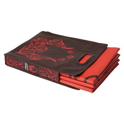 Natural Fitness Lifeline Folding Yoga Mat - Red (4mm)