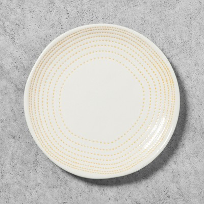 Stoneware Radial Salad Plate - Golden Yellow - Hearth & Hand™ with Magnolia