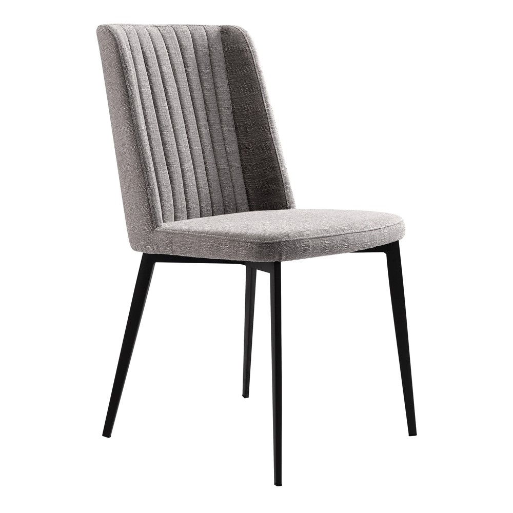Set of 2 Homer Contemporary Dining Chair Gray - Modern Home