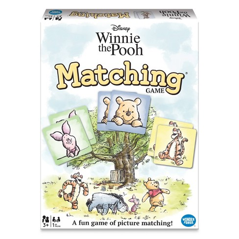 Disney Winnie the Pooh Matching Game - image 1 of 4