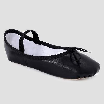 Freestyle by Danskin Girls' Ballet Slippers - Black