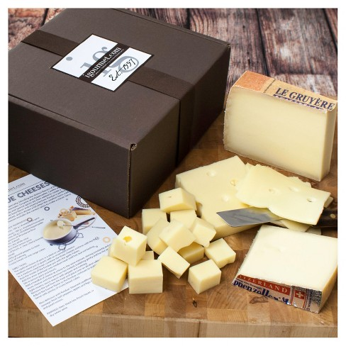 igourmet Set of Fondue Cheeses in Gift Box - image 1 of 1