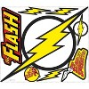 RoomMates Classic Flash Logo Peel and Stick Giant Wall Decals - image 2 of 2